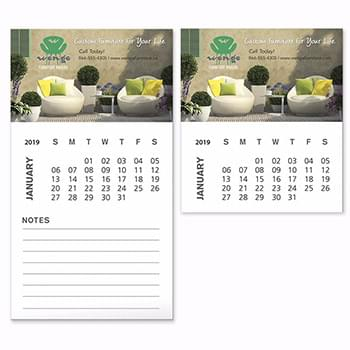 BIC&#174 Business Card Magnet with 12 Sheet Calendar