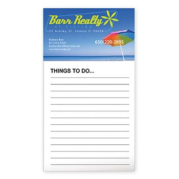 BIC&#174 Business Card Magnet with 50 Sheet Notepad