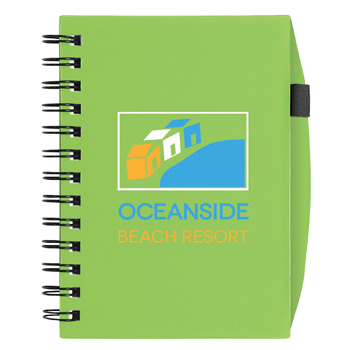BIC&#174 Plastic Cover Notebook