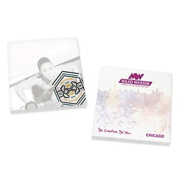 "BIC&#174 Ecolutions&#174 3"" x 3"" Adhesive Notepad, 25 sheet"