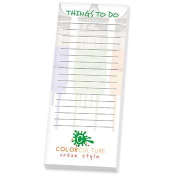 "BIC&#174 Ecolutions&#174 3"" x 8"" Adhesive Notepad, 25 Sheet"