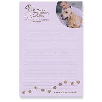 "4"" x 6"" Adhesive Notepads 100 sheet pad"