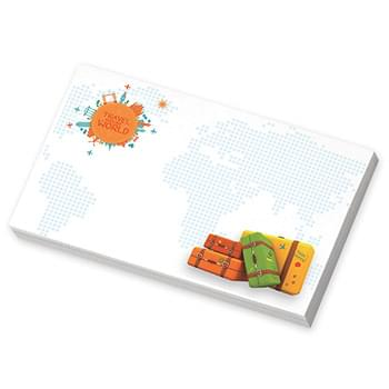 "BIC&#174 5"" x 3"" Adhesive Notepad, 100 sheet"